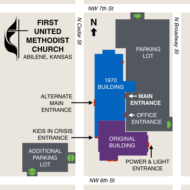 AFUMC Entrance Map